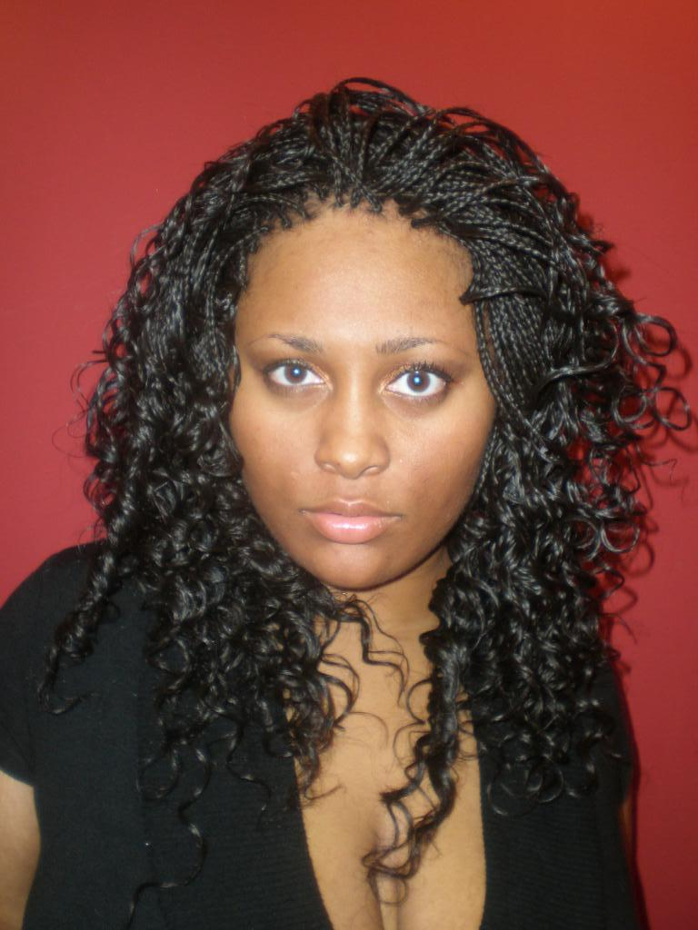 Wet And Wavy Crochet Hair Styles : Wet and Wavy Micro Braids Hairstyles