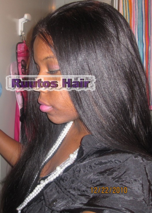 inch Virgin Chinese Indian Remy Full Lace Glueless Wig – Ruutos Hair